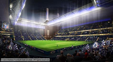 chelsea stadium chelsea images of battersea power station stadium daily