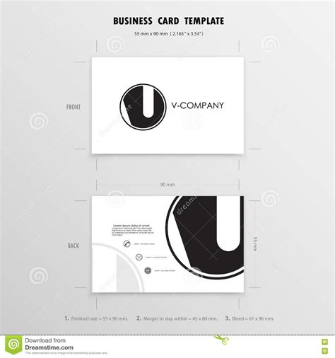 size for business card design templates business cards design template name cards symbol size 55