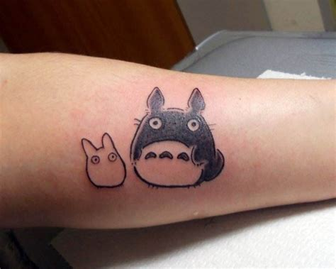 totoro tattoo totoro tattoos gloss