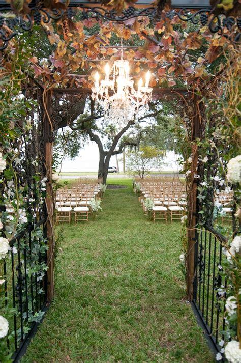 ta garden club secret garden inspired wedding