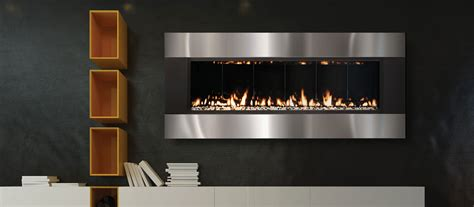 """THE FIREPLACE ELEMENT 58"""" Solas Linear (only 8 inch deep)"""