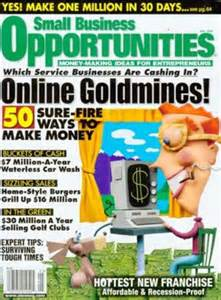 Small Home Business Magazine Small Business Opportunities Magazine Discountmags