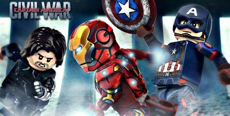 Lego Kw Captain America Civil War Costume Minifigure lego captain america civil war lego customs