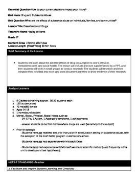 assure model lesson plan template 1000 images about high school health teaching materials