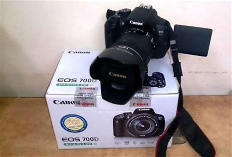 Filter Kamera Canon 700d digital slr canon eos 700d dslr complete with 55 250 lens and accessories was sold for