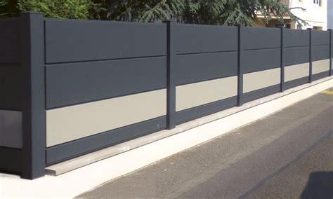 cloture jardin aluminium cloture de jardin en aluminium cobtsa