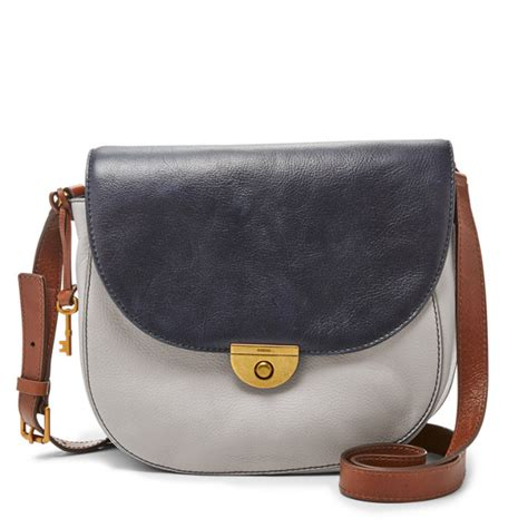 Fossil Emi Saddle Bag emi large saddle bag fossil