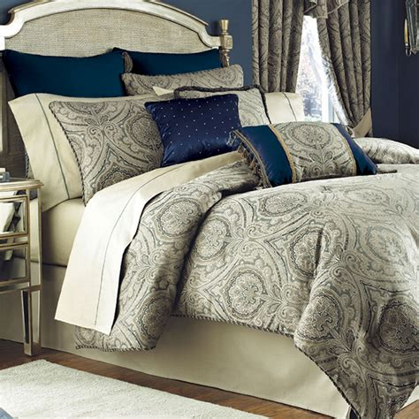 mattress comforter hannah medallion comforter bedding by croscill