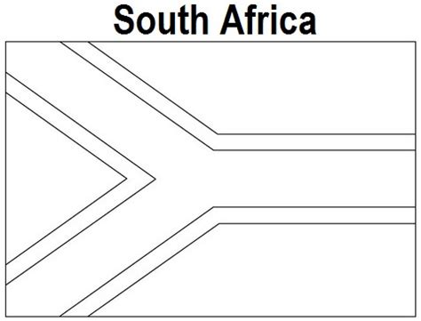 south africa flag coloring page az coloring pages