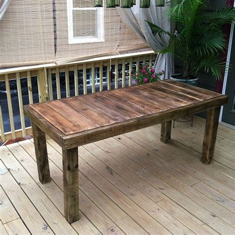 Diy Outdoor Bistro Table Diy Pallet Table 13 Easy Outdoor Diy Projects Upcycles Live From Julie S House