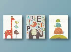 Nursery Room Wall Decor Baby Room Decor Nursery Print Boy Nursery Decor Elephant