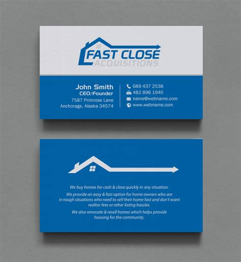 We Buy Houses Business Card Templates by We Buy Houses Business Cards Choice Image Business Card