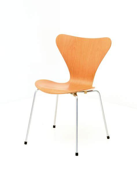 Stuhl 3107 Arne Jacobsen by Stuhl Bogen33
