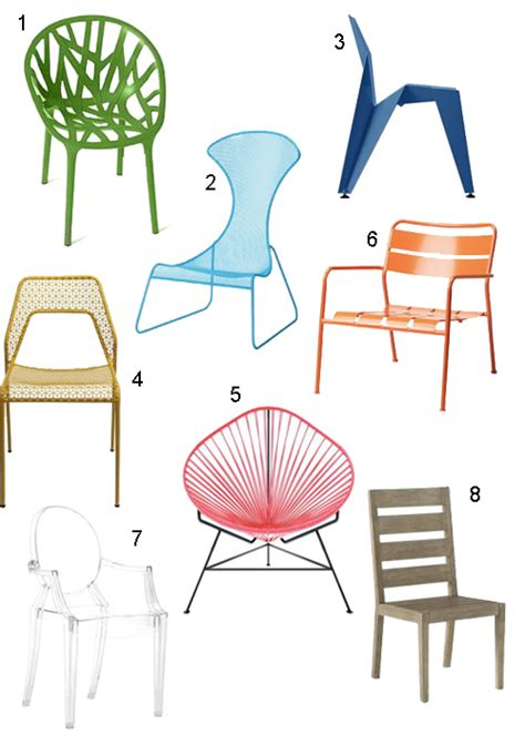 Modern Patio Chairs by Get The Look 18 Modern Patio Chairs Stylecarrot
