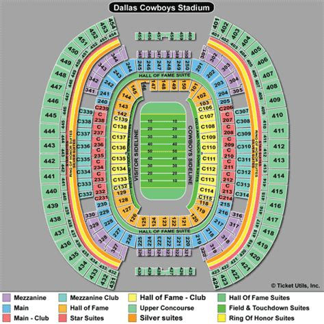 att stadium view from seats dallas cowboys tickets 2018 cowboys tickets