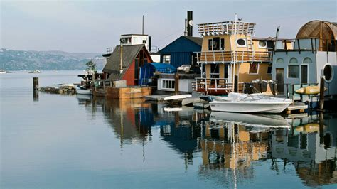 houseboats sf distinctive design style aboard sausalito s houseboats