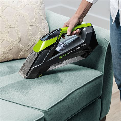 carpet cleaner on couch bissell pet stain eraser 2003 portable carpet cleaners