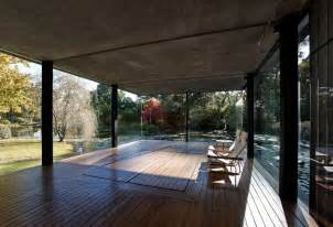 Glass Pavilion glass pavilion takes the place of an orchard but keeps its