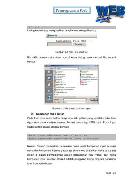 Pemrograman Web pemrograman web 2