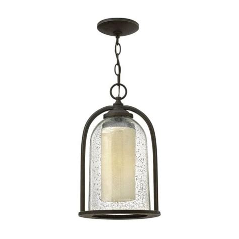 Hanging Porch Lights by Hanging Porch Light Traditional Bronze Seeded Glass Bell Jar Lantern
