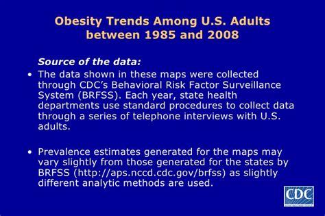 behavioral risk factor surveillance system brfss cdc obesity trends 2008