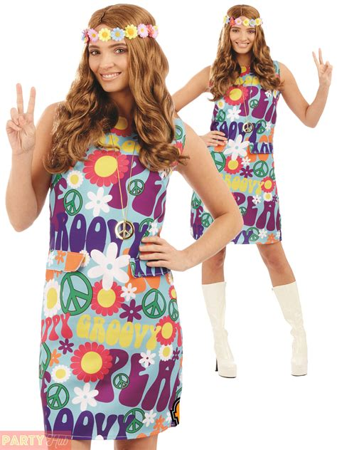 1960s 1970s groovy hippie costume adults hippy