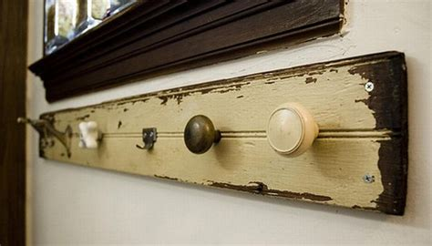 weekend diy delight make your own door knob coat rack