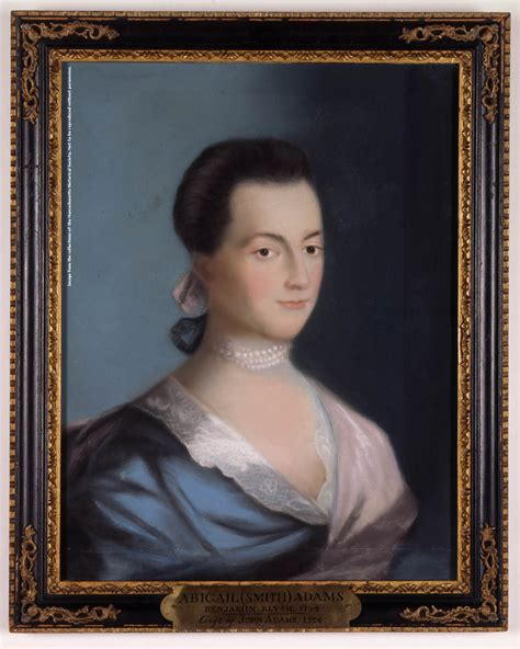 abigail adams pictures mhs collections online abigail adams