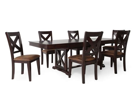 winners only java seven dining set mathis brothers
