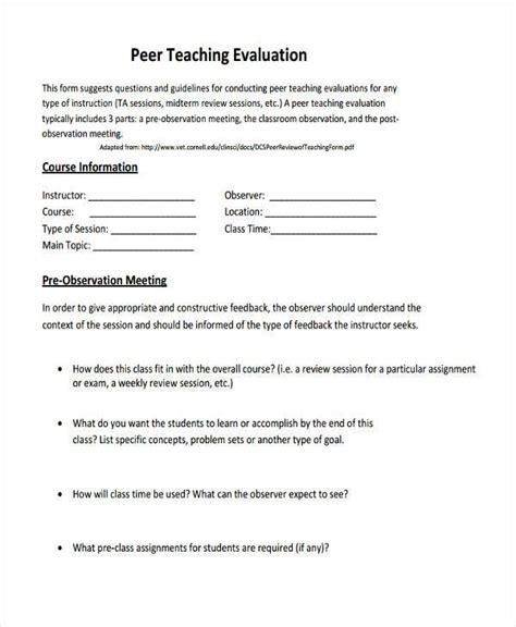 observation feedback form doc observation feedback form sle observation