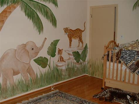 elephant wall mural jungle wall murals by colette safari jungle themed murals