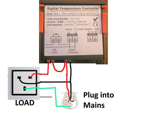 wiring a temperature controller with diagram and wiring