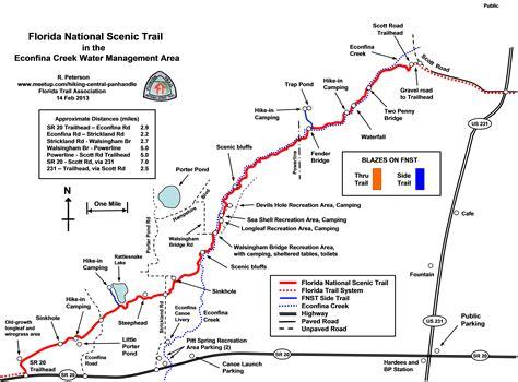 florida trail map files florida trail panhandle chapter panama city fl