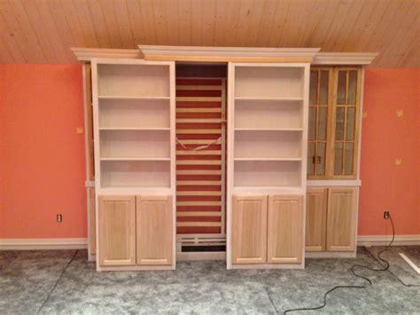 sliding bookcase murphy bed sliding bookcase murphy bed diy furniture