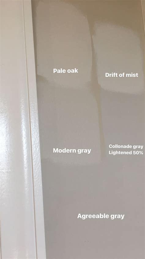 pale oak modern gray drift  mist colonnade gray