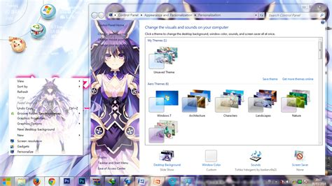 download theme windows 7 yatogami tohka kawaii theme windows yatogami tohka
