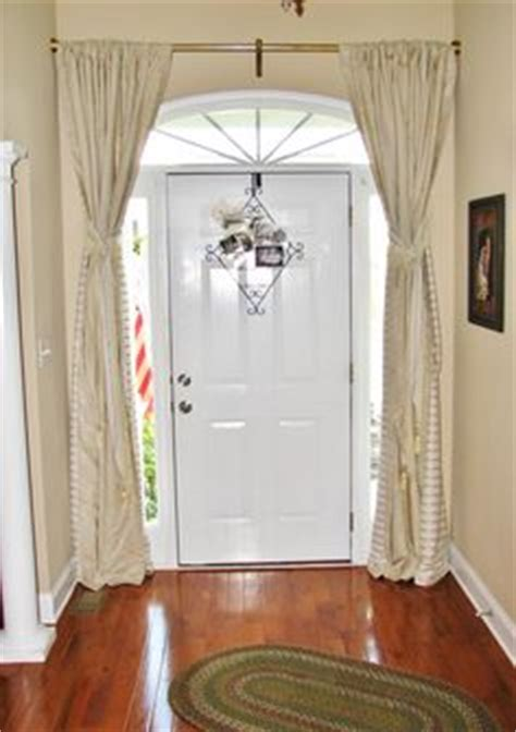 Front Door Curtain Ideas 1000 Images About Front Door Deco Ideas On Front Door Curtains Door Curtains And