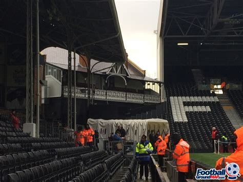 Craven Cottage Map by Craven Cottage Home To Fulham Football Ground Map