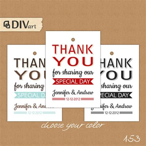 correct wording for bridal shower favor tag 7 best images of wedding thank you tags printable free printable thank you gift tags wedding
