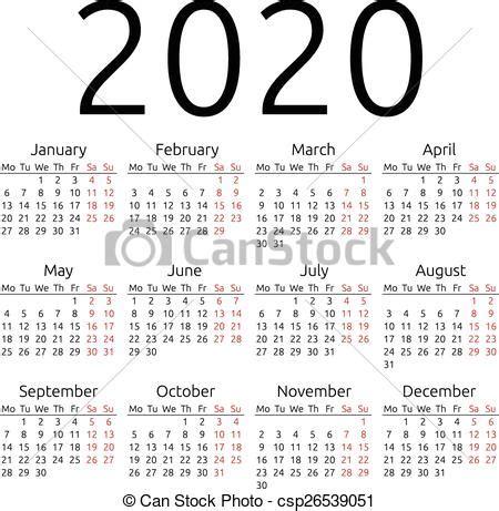 simple vector calendar  simple  year calendar eps  vector