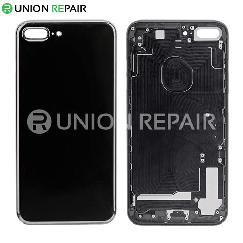 replacement for iphone 7 plus back cover jet black