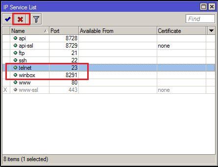 tutorial xl ssh 2015 mikrotik tutorial disable ssh and telnet on mikrotik