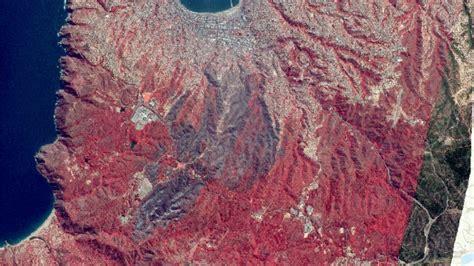 imagenes satelitales infrarrojas im 225 genes satelitales muestran el antes y despu 233 s del