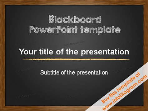 minimalistic pptx template   layouts blackboard