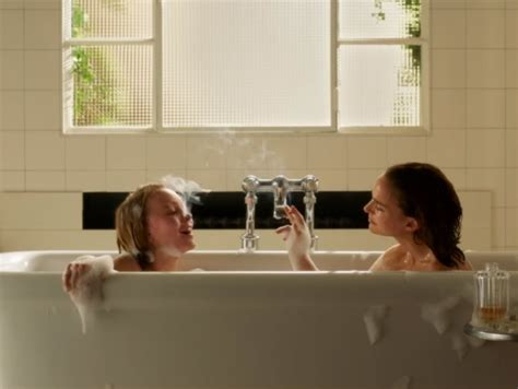the bathtub movie natalie portman and lily rose depp share a bath in first