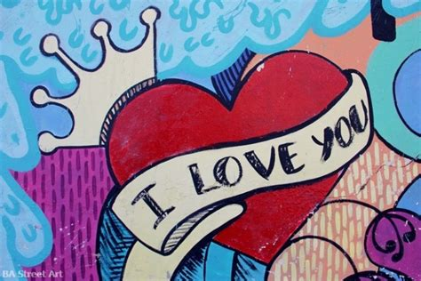 imagenes i love you graffiti dibujos de amor en graffitis imagui