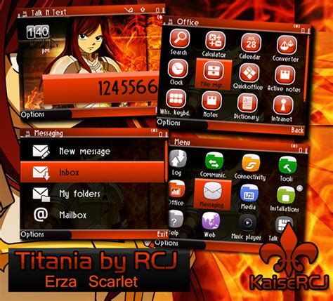 nokia c3 fairy tail themes kaisercj theme crafts just another blog for nokia themes