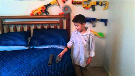 nerf bedroom ideas walk through of my bedroom and nerf guns youtube