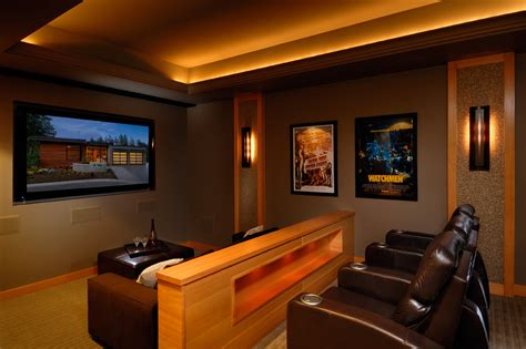 theater room sconces  wood home theatre home theater