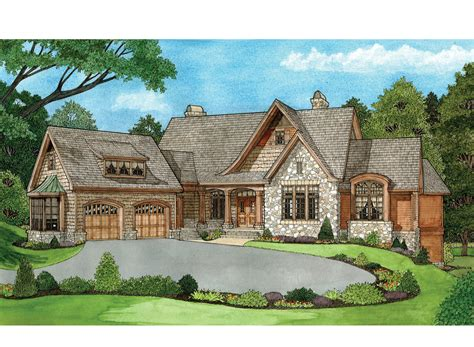 walkout ranch house plans craftsman style ranch with walkout basement hwbdo77120 craftsman luxamcc